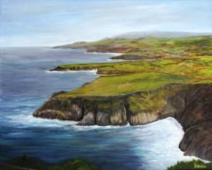 Azores, Portagal, landscape, water, cliffs