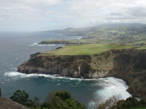 Baie de Santa Iria  Azores Portagal.