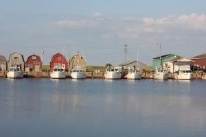 PEI, Prince Edward Island, fishing boats