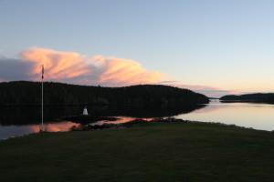Bayside, Evening Sky