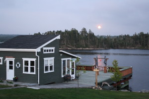 Full Moon, Bayside, Nova Scotia, Shad Bay, Cottage Rental