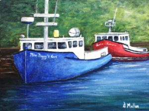 113-fishing-boatsplein-air-at-peggys-cove-12-x-9-acrylic-150-00