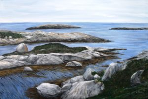 Polly Cove, Nova Scotia, hike, rocks, ocean