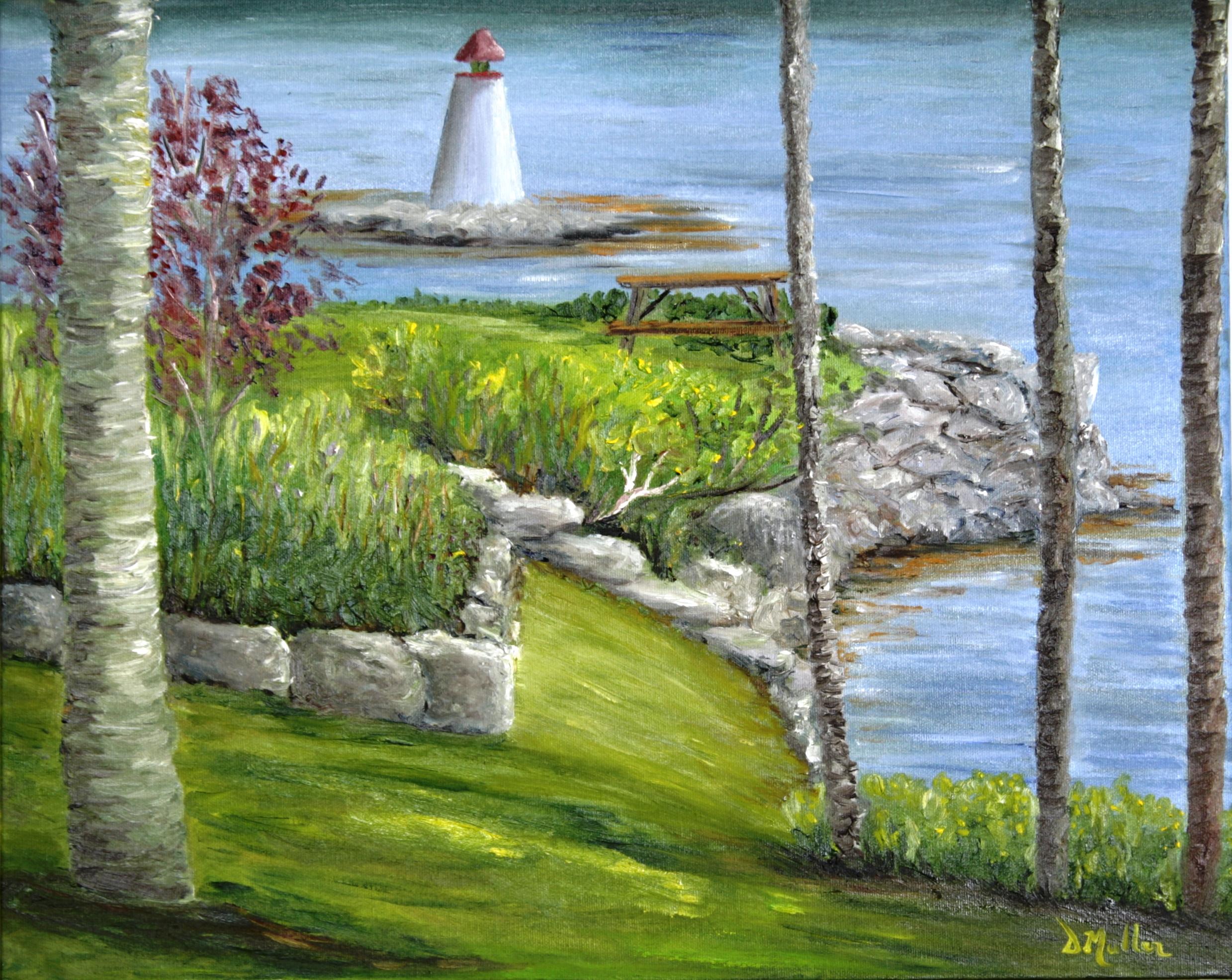 lighthouse, Bayside, Nova Scotia