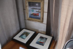Prints, Lobster Trap Frame