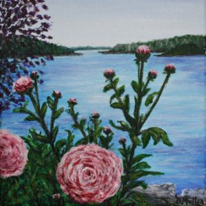 Peonies, flowers, Shad Bay, Bayside, Donna's Gallery