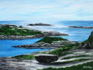 Rock, Ocean, Polly's Cove
