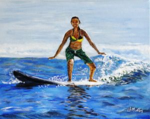 Hawaii, surfing, ocean
