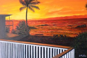 Hawaii, North Shore, sunset