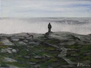 Hurricane Bill, Nova Scotia, wild ocean, waves, high head, rocks