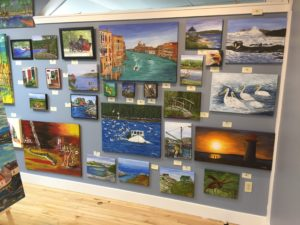 Tripp's Gallery, Annapolis Royal, Gallery, Artist, Donna Muller, paintings